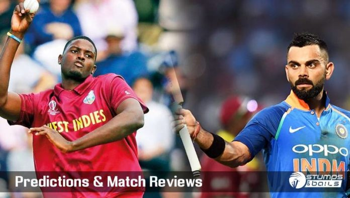 India Vs West Indies 34th ODI ICC CWC 2019 – Live Cricket Score 2019