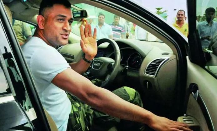 'Welcome Home Red Beast': MS Dhoni Gets His New Toy