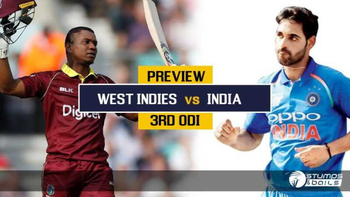 India Tour Of West Indies: 3rd ODI Preview - India Look To Wrap Up The Series