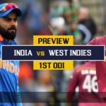 1st ODI Match Preview - India Look To Continue The Winning Run In The ODI Series