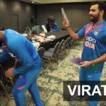 Jadeja Imitates Virat Kohli For Heads Up Challenge With Rohit Sharma