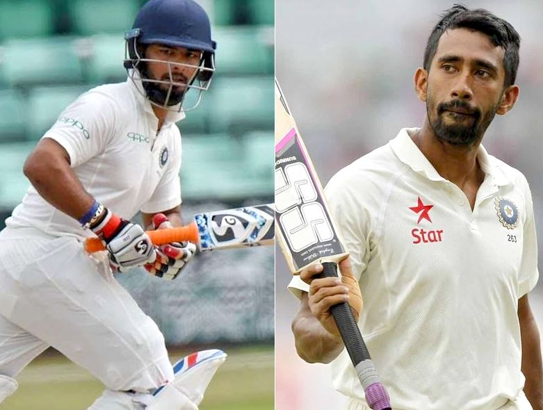 Rishabh vs Saha:Former Indian Wicket-Keeper Wants This Player To Play