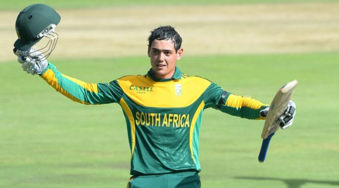 Quinton De Kock Appointed As The South African T20I Captian