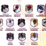 West Indies Announce Their 13-Men Squad For The 2nd Test Against India