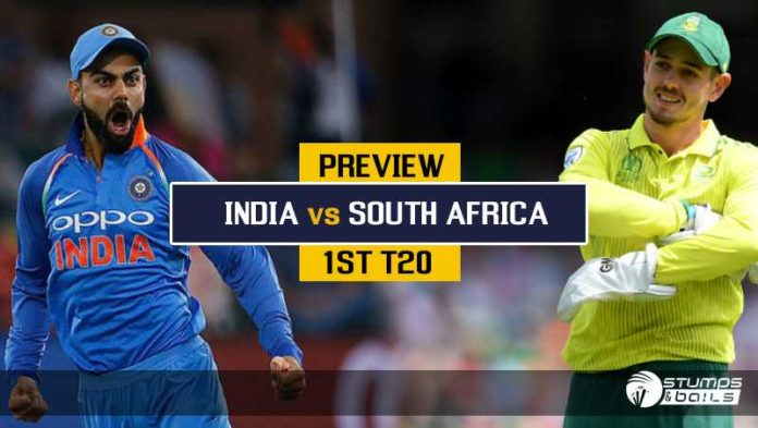 IND vs SA: 1st T20 Preview - Inexperienced South Africa Face A Tough Indian Test