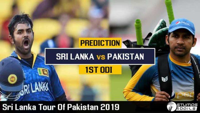 Match Prediction For Pakistan vs Sri Lanka 1st ODI | Sri Lanka Tour of Pakistan 2019 | PAK vs SL