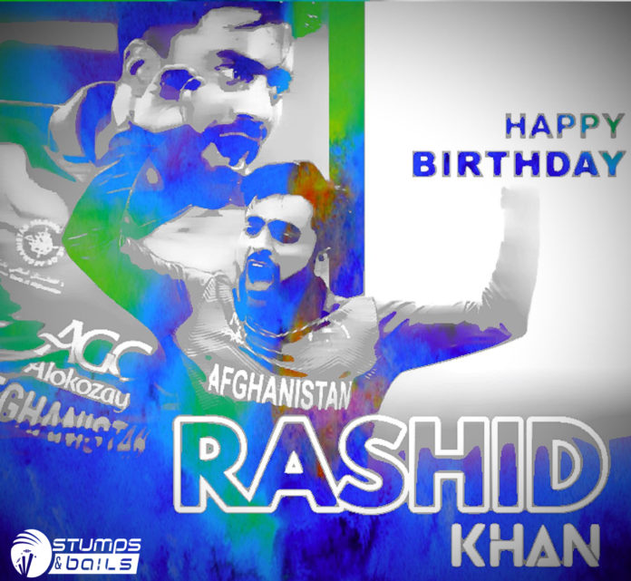 Happy Birthday Rashid Khan: A Sensational Spinner And A Man With Best Bowling Skill In Modern Era