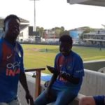 Rohit Sharma Hilarious interaction With West Indian Fans After India's Victory In Jamaica Test