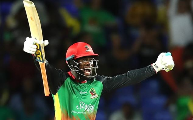 Despite Chris Gayles Ton St Kitts and Nevis Patriots Claimed The Victory