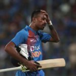 Hardik Pandya Takes Part In A Practice Session At Wankhede Stadium