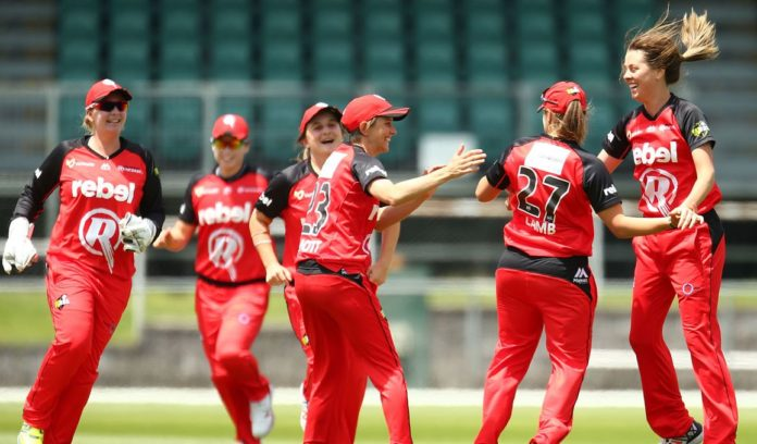 WBBL 2019 - Melbourne Renegades Register Their Second Win Over Perth Scorchers