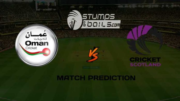 Match Prediction For Scotland Vs Oman, Playoff 5 | ICC Men's T20 World Cup Qualifier 2019 | ICC World Twenty20 Qualifier | SCO Vs OMAN