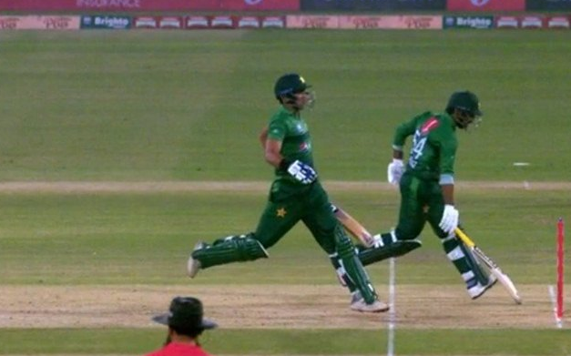 Twitterati Badly Trolled Out Pakistan Batsmen For Hilarious Run Out
