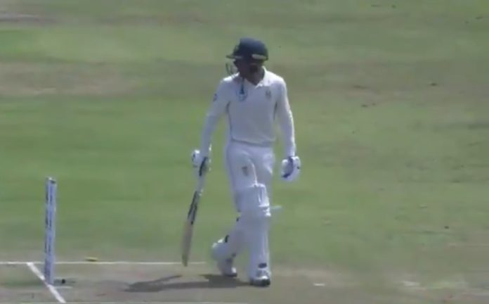 INDvSA - Ashwin Deceive Quinton de Kock With A Magical Delivery