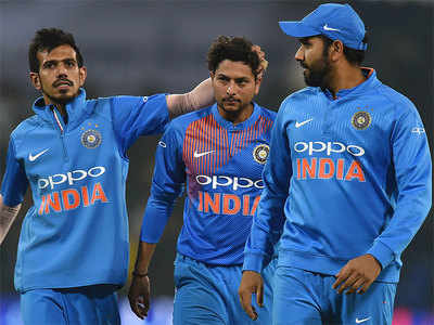 Rohit sharma praises chahal - 'He has done extremely well for us,'