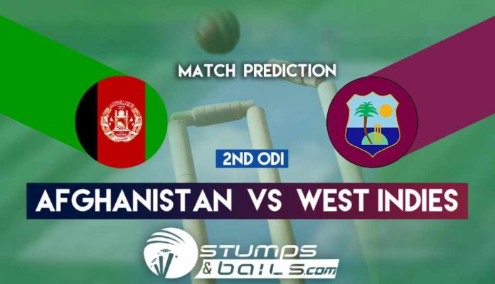 Match Prediction For Afghanistan Vs West Indies 2nd ODI | Afghanistan Vs West Indies In India 2019 | AFG Vs WI