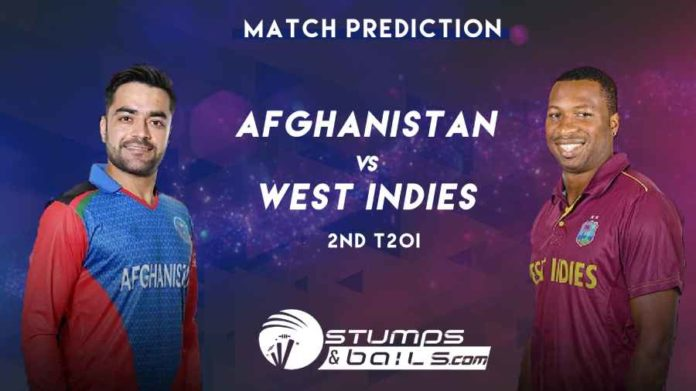 Match Prediction For Afghanistan Vs West Indies 2nd T20 | Afghanistan Vs West Indies In India 2019 | AFG Vs WI