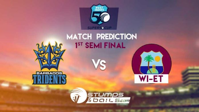 Match Prediction For Barbados vs West Indies Emerging Team-1st Semi-Final | Super 50 Cup 2019 | BAR vs WIE