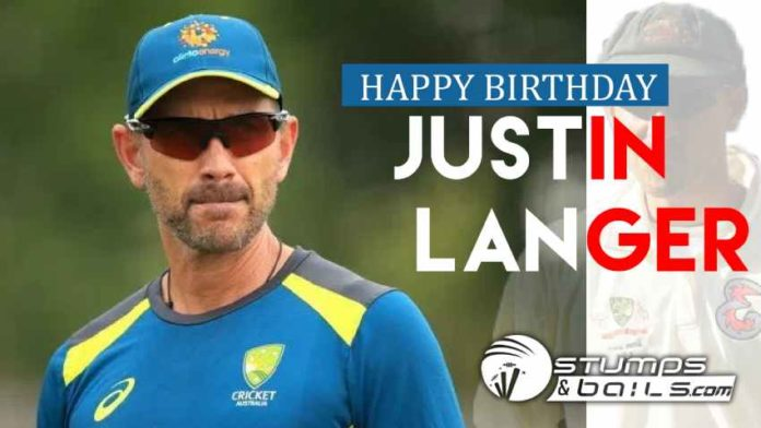 Happy Birthday Justin Langer – One Of Australia's Most Successful Opening Batsman
