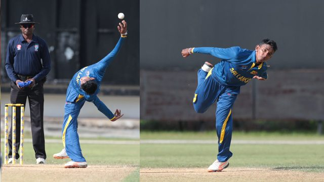 Sri Lanka spinner Kevin Koththigoda's unusual bowling action takes T10 league by storm