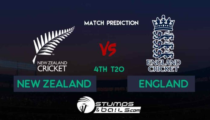 Match Prediction For New Zealand Vs England 4th T20 | England Tour Of New Zealand, 2019 | NZ Vs ENG