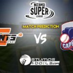 Cape Town Blitz vs Nelson Mandela Bay Giants Match Prediction | Mzansi Super League 2019 | MSL 2019 | CTB vs NMBG