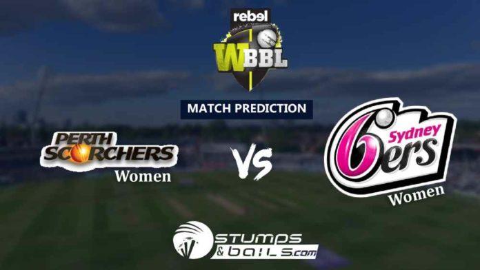 Match Prediction For Perth Scorchers Women Vs Sydney Sixers Women 47th T20   Women Big Bash League 2019   WBBL 2019   PRSW Vs SYSW