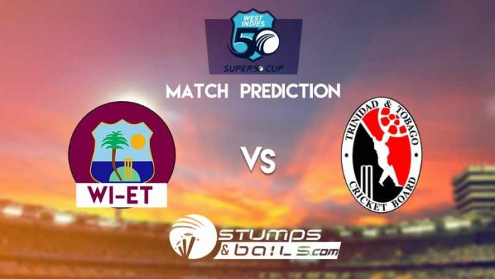 Match Prediction For West Indies Emerging Team vs Trinidad and Tobago | Super 50 Cup 2019 | WIE vs TNT