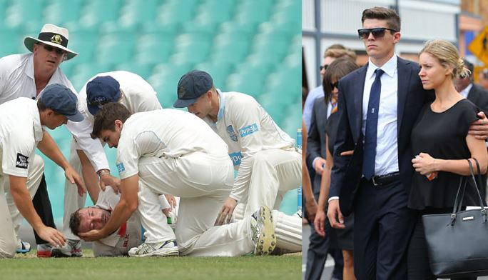 Commentator Simon Hughes Announces Sean Abbott, Refers to Phillip Hughes' Death; Gets Criticized