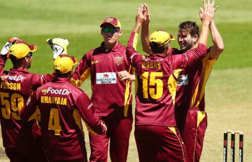 Queensland Records Dramatic Win With Seven Balls To Spare