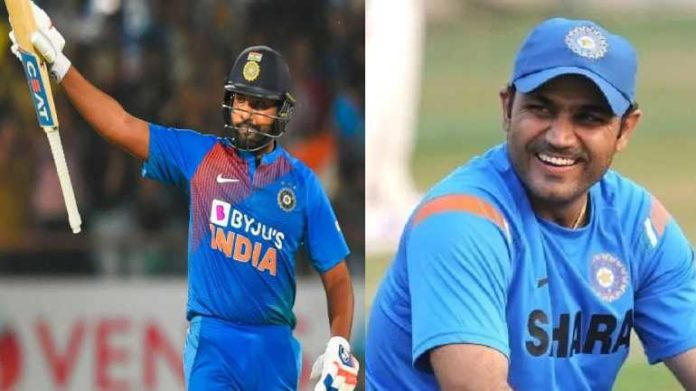 Virendra Sehwag Lauds Rohit Sharma For His Impressive Knock In Rajkot Match