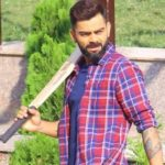 Virat Kohli Playing Gully Cricket With Kids