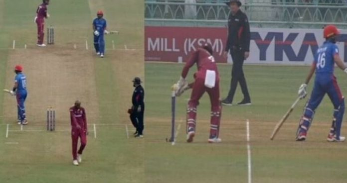 West Indies Vs Afghanistan: Shai Hope Controversially Runs Out Ikram Alikhil