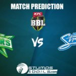 Melbourne Stars vs Adelaide Strikers Match Prediction| BBL 2019-20