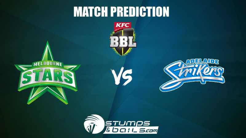 Melbourne stars vs adelaide strikers betting preview como mineral bitcoins android 18