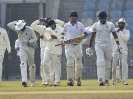 Day Four Ranji Trophy Match Suspended
