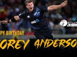 Happy Birthday Corey Anderson - One Explosive Kiwi T20 Cricketers
