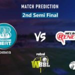 Brisbane Heat vs Melbourne Renegades 2nd Semi Final Match Prediction | Women Big Bash League 2019 | WBBL 2019 | BRHW vs MLRW