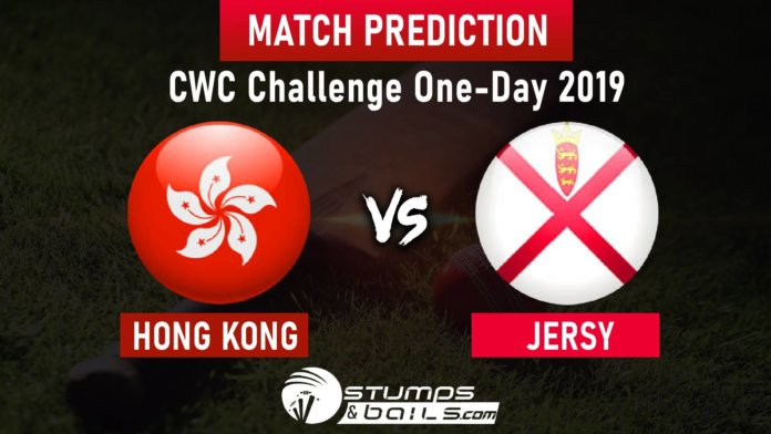 Hong Kong vs Jersey Match Prediction | CWC Challenge One-Day 2019 | HK vs JER