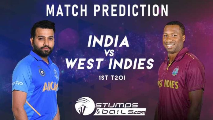 India vs West Indies 1st T20 Match Prediction | West Indies Tour Of India, 2019 | IND Vs WI