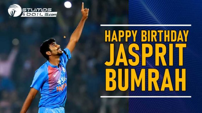 Happy Birthday Pacer Bumrah