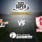 Nelson Mandela Bay Giants vs Tshwane Spartans Match Prediction Mzansi Super League 2019