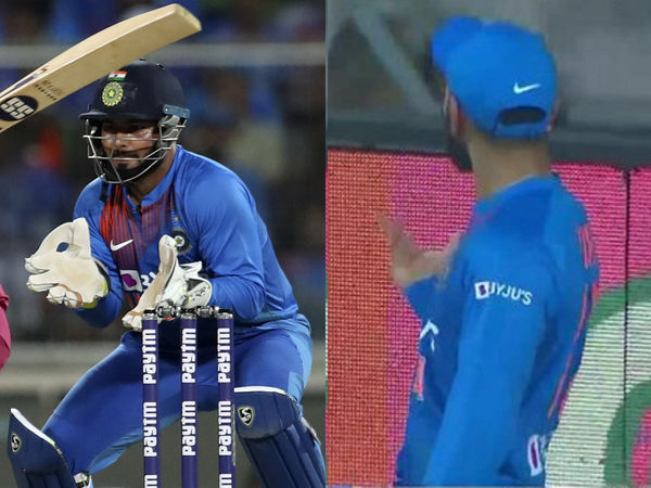 Virat Kohli Gets Annoyed With MS Dhoni's Chant In T20I Series