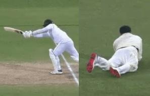 Steve Smith's Impressive Catch In The Adelaide Test