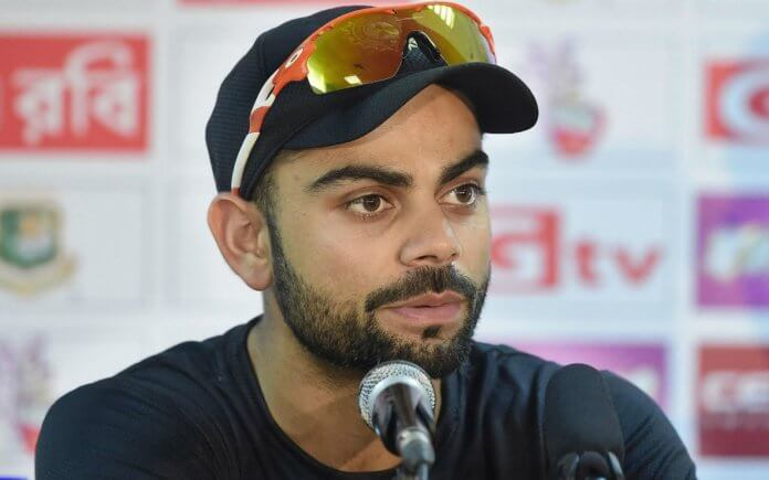 Virat kohli opens up about his Diet Plans for upcoming Test Match