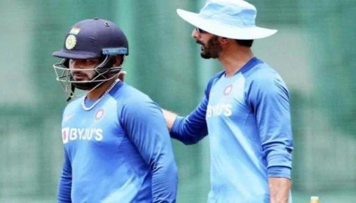 IND VS WI: Vikram Rathour Rishabh Pant