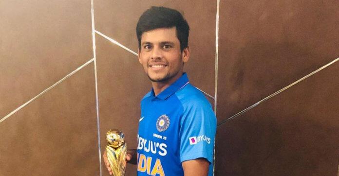 Priyam Garg to lead India in U-19 Cricket World Cup 2020