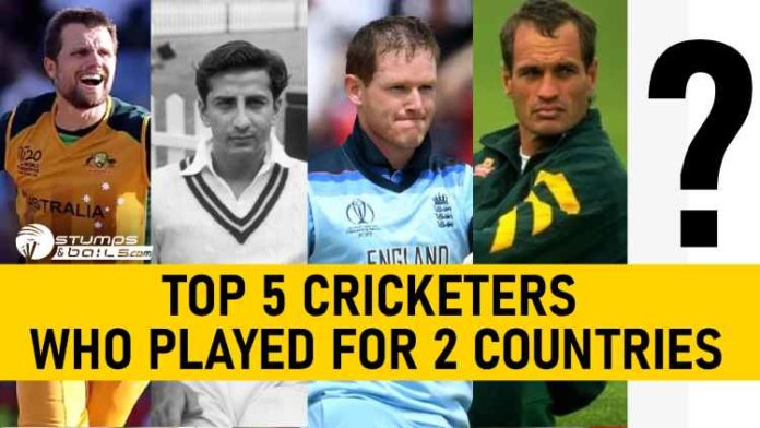 Top 5 Cricketers Who Played For Two Countries