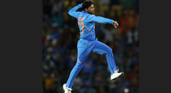 Kuldeep Becomes Fastest Indian Spinner To Get 100 ODI Wickets