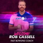 IPL 2020 - Rajashtan Royals Appointed Rob Cassell  As Bowling Coach